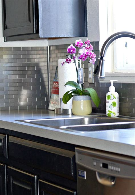 Easy Subway Tile Backsplash by 17 Best Images About Dyi Ideas On Faux Granite