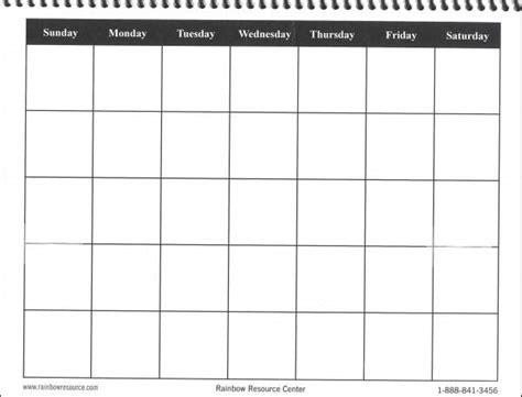 printable calendar squares calendar template 2016