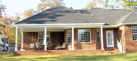 Houses With Front Porches by Patios And Porches All Pro Improvements Columbia Sc