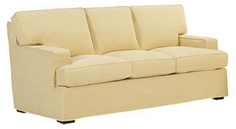 rachael sleeper sofa pillow back slipcover sleeper sofa w track arms
