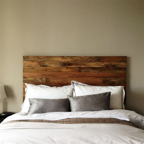 Handmade Bed Headboards - cedar barn wood style headboard modern rustic handmade in