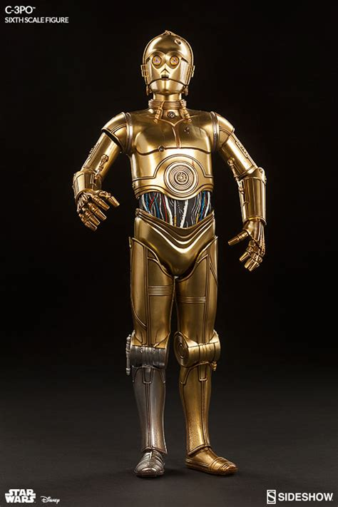 wars collectibles wars c 3po sixth scale figure by sideshow