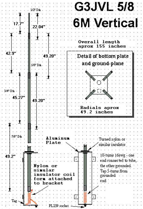 Klem Selang Kawat 2 Inch Ikatan Selang 2 Inch Klem Kawat 2 Inch 6 meter antena vertikal 5 8 gelombang fm s s e