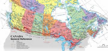 map de canada mapas de canada