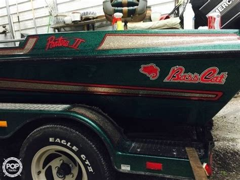 used bass cat boats for sale in arkansas 1994 used bass cat 19 pantera ii bass boat for sale