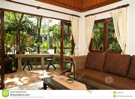 thai living room thai style living room stock photos image 12481623