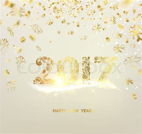 Free New Year Card Template 2016 by Merry Card Gray Background With Golden