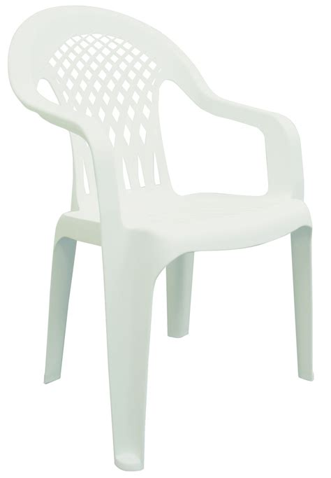 White Resin Patio Chairs White Plastic Patio Chairs Picture Pixelmari