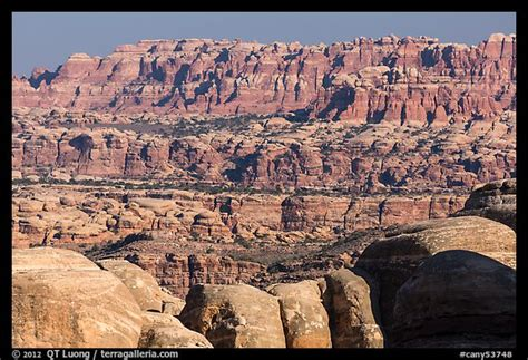 utah doll house picture photo the needles seen from the doll house canyonlands national park