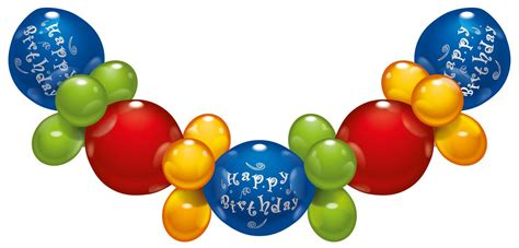 Balon Happy Birthday Set by Karaloon Shop 1 Balloon Set Happy Birthday