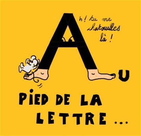au pied de la lettre expressions francofils