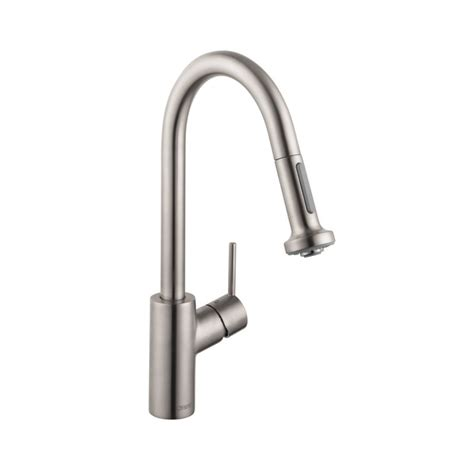 hansgrohe talis kitchen faucet hansgrohe 14877001 talis s 2 spray higharc kitchen faucet