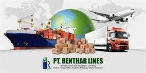 Logistics Cargo Management B V Pt Renthar Lines International Sea And Air Freight