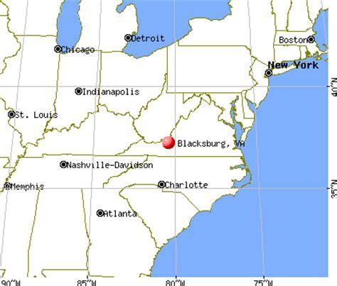 blacksburg va map blacksburg virginia va 24060 profile population maps