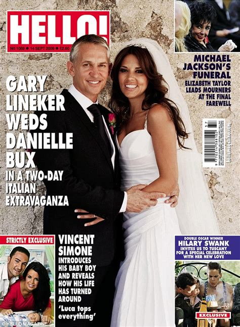 Thorne Smith Marries In Secret Ceremony by Gary Lineker Seen For Time Since Revealing He And