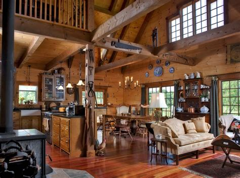 log home pictures interior peenmedia