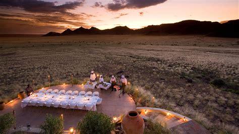Outdoor Stone Fireplaces - andbeyond sossusvlei desert lodge namib desert namibia