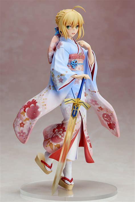 Matou Kimono Ver Pvc Anime anime figure 25 cm fate stay kimono saber kimono ver pvc figure collectible