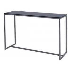 Slim Console Table Buy Gillmore Space Black Glass Slim Console Table From Fusion Living