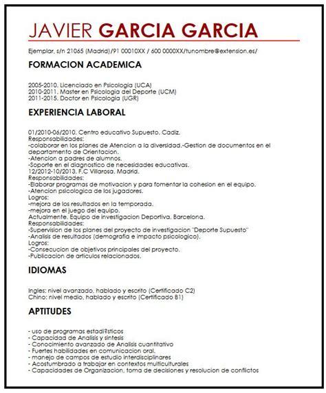 Modelo Curriculum Habilidades Destrezas Modelo De Curriculum Vitae Habilidades Y Destrezas Modelo De Curriculum Vitae