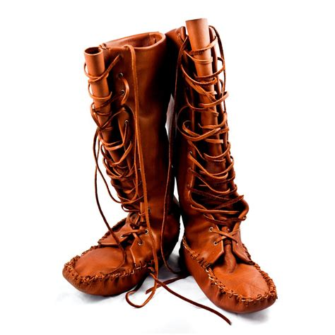 mens indian moccasins boots leather knee high moccasin boots i will make these can t