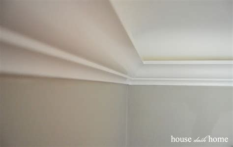 house dash home adding crown molding to coved ceilings