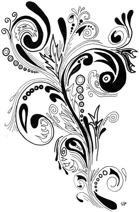 swirl designs for tattoos swirls cliparts co
