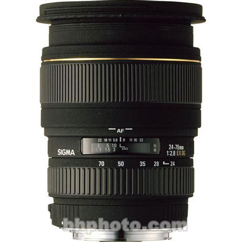 Sigma 70mm F 2 8 Ex Dg Af Macro sigma 24 70mm f 2 8 ex dg macro df autofocus lens 548306 b h