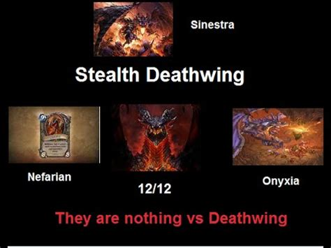 hearthstone stealth deck hearthstone stealth deathwing deck
