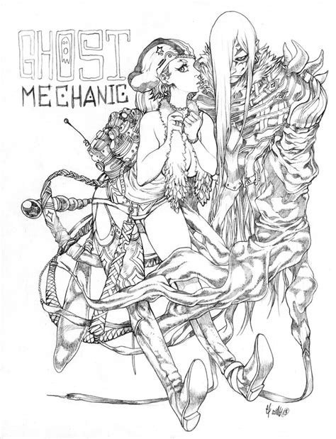 mechanic drawing ghost mechanic by elsevilla on deviantart