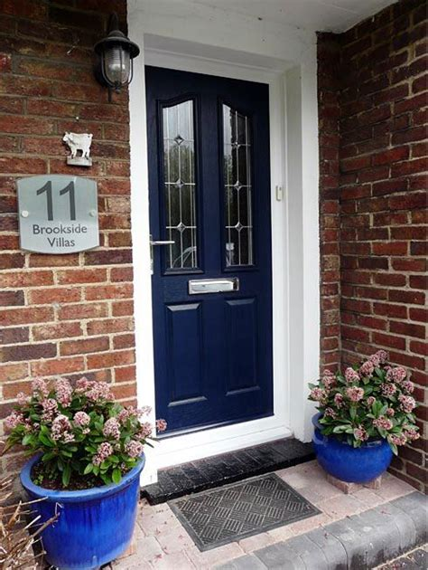 navy front door 17 best ideas about navy front doors on pinterest kick