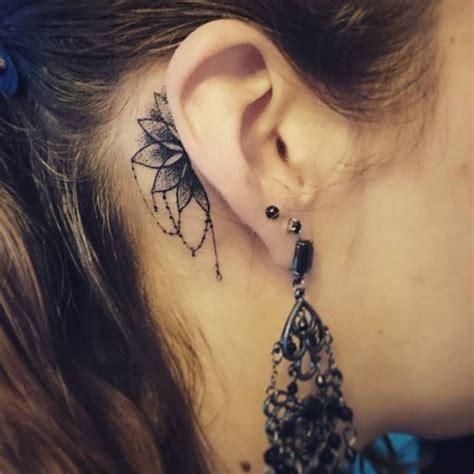 cat ear tattoo meaning 30 colorful daring sneaky peek a boo ear tattoos
