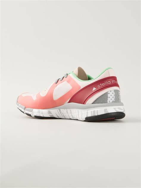 stella mccartney adidas shoes lyst adidas by stella mccartney alayta sneakers in pink