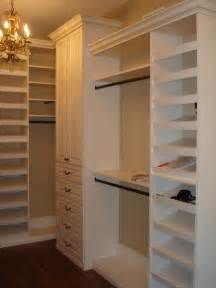 shelving ideas for walk in closets traditional closet