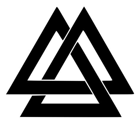 valknut die cut decal car window wall bumper phone laptop