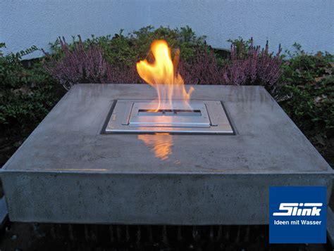 gartenbrunnen elemento mit feuerstelle online kaufen
