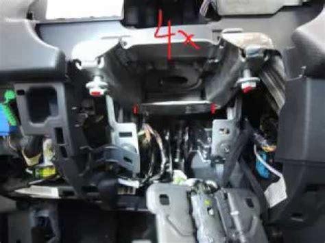 Audi A6 C4 Uhr Einstellen by 207 Cc Armaturenbrett Ausbauen Iii Youtube