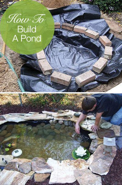 how to make a small backyard pond how to build a pond easily cheaply and beautifully a