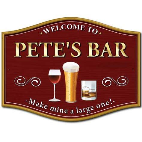 Home Bar Signs Jaf Graphics Make Mine A Large One Home Pub Sign
