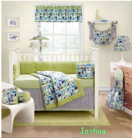 Lime Green Crib Bedding Lime Green Nursery Bedding Thenurseries
