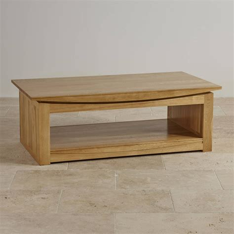 Solid Oak Coffee Tables 15 Collection Of Solid Oak Coffee Tables