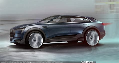 concept audi outlook on series production the audi e quattro