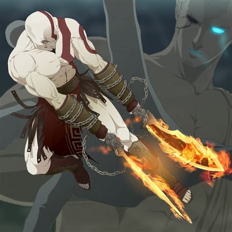 imagenes zeus anime god of war zerochan anime image board