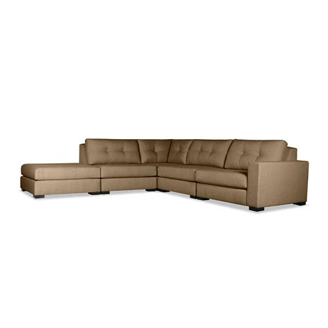 tribeca ottoman tribeca modular right arm l shape left ottoman sectional