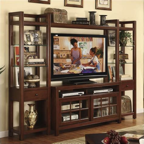 Entertainment System Furniture by Riverside Furniture Avenue Wall Entertainment System