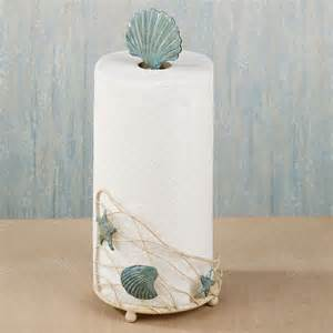 towel paper holder sea metal paper towel holder