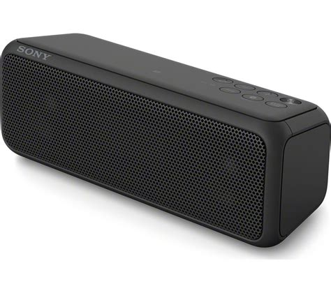 Speaker Sony buy sony srsxb3b portable wireless speaker black free delivery currys