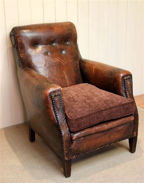 french leather armchair french leather armchair antiques atlas
