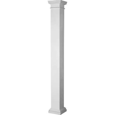 Fiberglass Columns Home Depot Turncraft Architectural El0809enpsatutu 8 Quot X 9 Endura