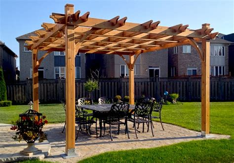 pavilion kits 12 x 12 breeze pergola outdoor living today
